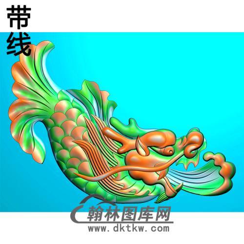 鳌鱼耳朵精雕图 (MBED-0777)