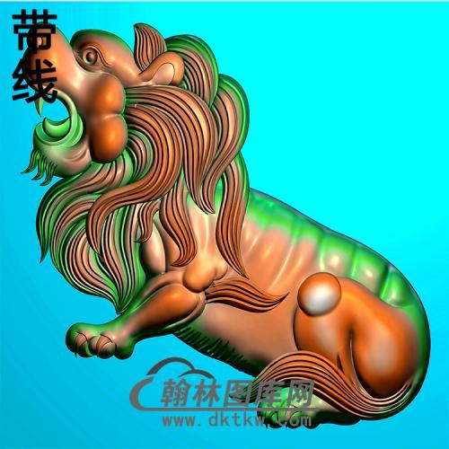 狮子耳朵精雕图(MBED-0781)