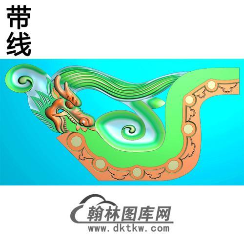 龙头耳朵精雕图 (MBED-0784)