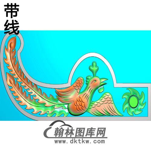 凤耳朵精雕图(MBED-0785)