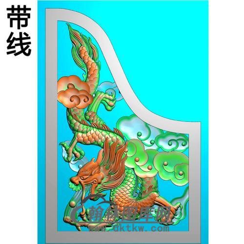 龙耳朵精雕图(MBED-0790)