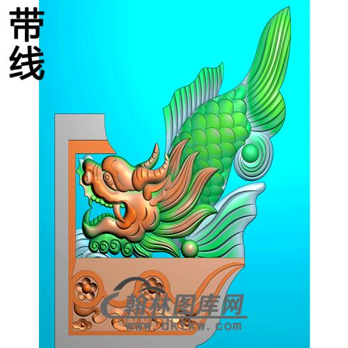 鳌鱼耳朵精雕图(MBED-0793)