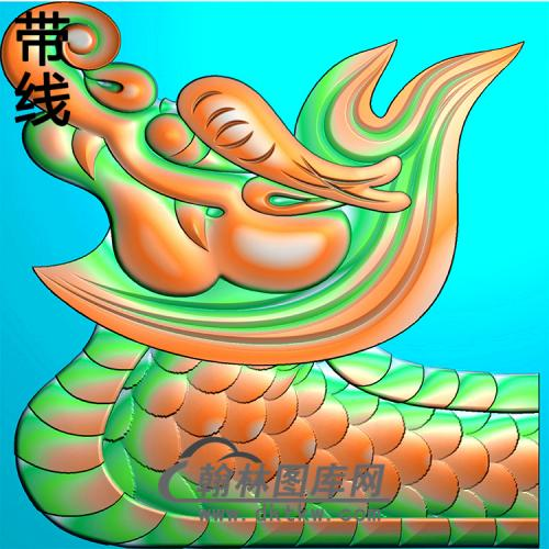 龙头耳朵精雕图(MBED-0806)