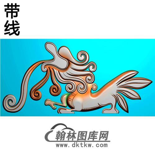 草龙耳朵精雕图 (MBED-0807)