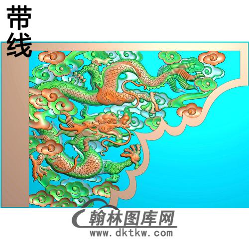 龙耳朵精雕图 (MBED-0810)