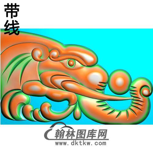 象头耳朵精雕图(MBED-0816)