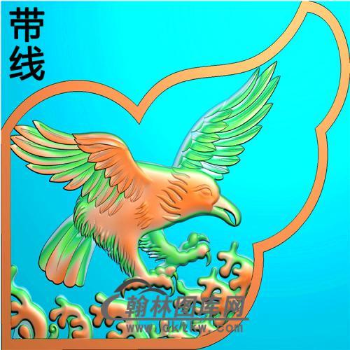 老鹰耳朵精雕图(MBED-0819)