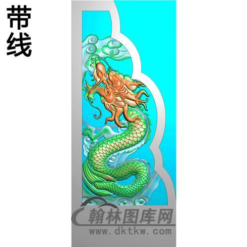 龙抱鼓精雕图(MBBG-1120)