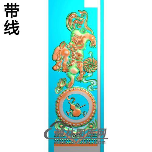 八宝抱鼓精雕图(MBBG-1128)