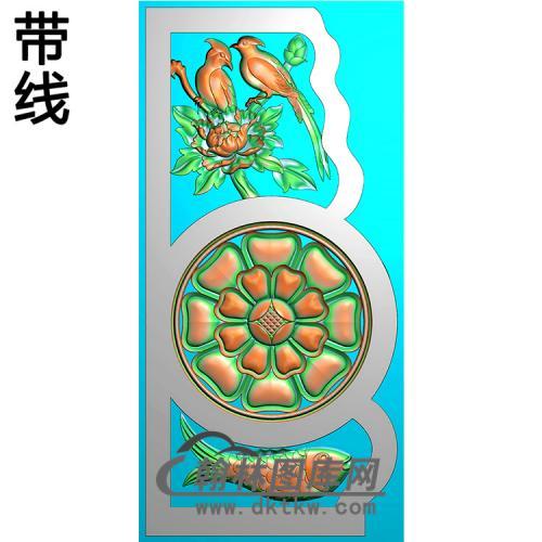 花抱鼓精雕图(MBBG-1130)