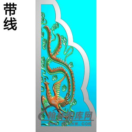 凤抱鼓精雕图(MBBG-1135)