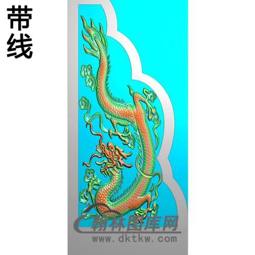 龙抱鼓精雕图(MBBG-1141)