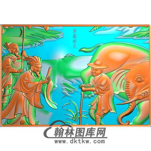 人物精雕图(MBSC-2473)