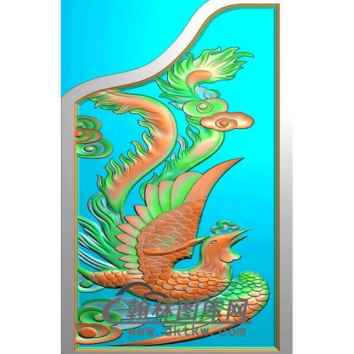 凤精雕图(MBSC-2479)