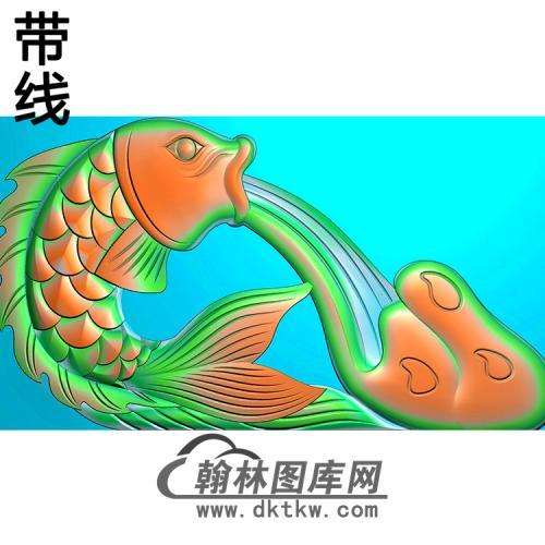 鲤鱼精雕图(MBSC-2486)