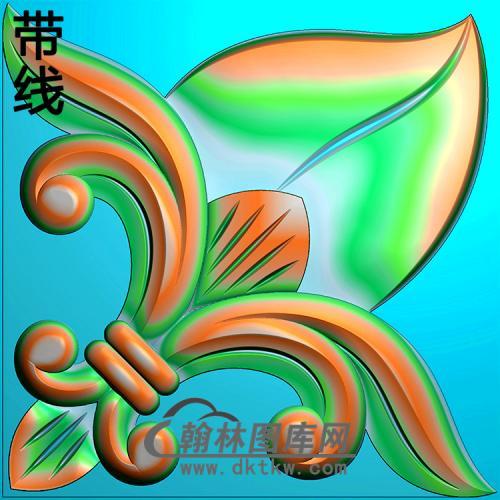 洋花精雕图(MBSC-2491)