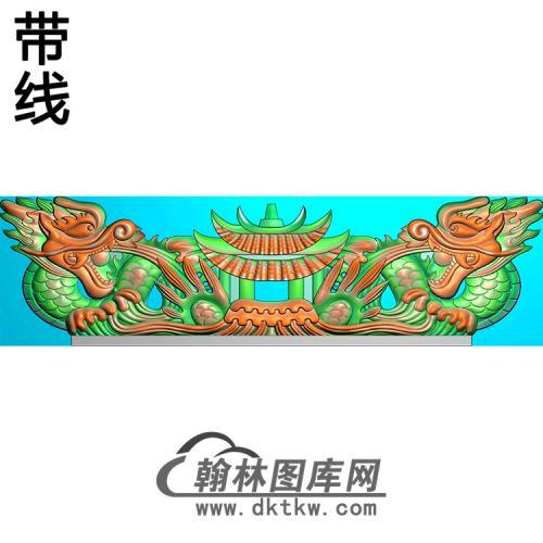 双龙精雕图(MBSC-2492)