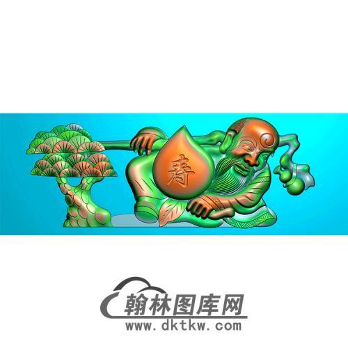 寿星精雕图(MBSC-2495)