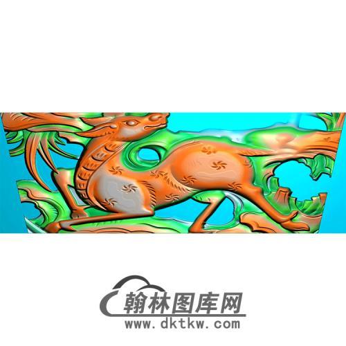 鹿精雕图(MBSC-2497)