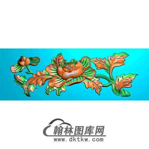 牡丹精雕图(MBSC-2499)
