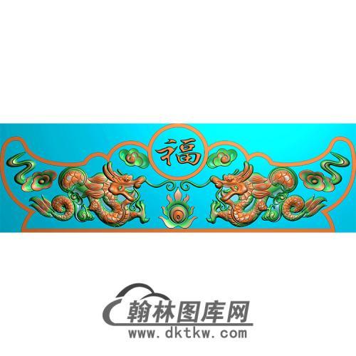 双龙精雕图(MBSC-2504)