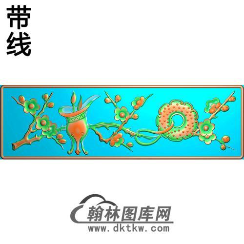 梅花精雕图(MBSC-2516)