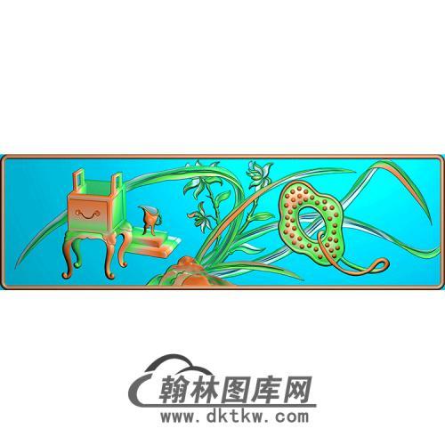 兰花精雕图(MBSC-2518)
