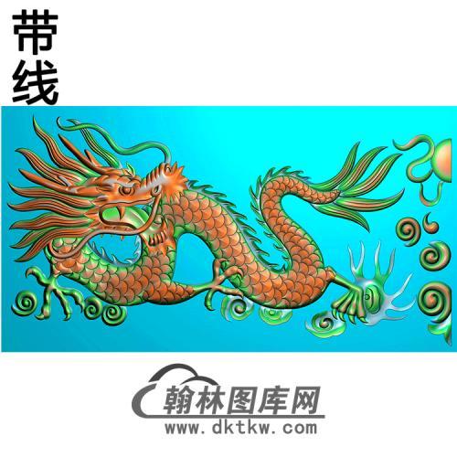 龙横梁精雕图(MBHL-1268)