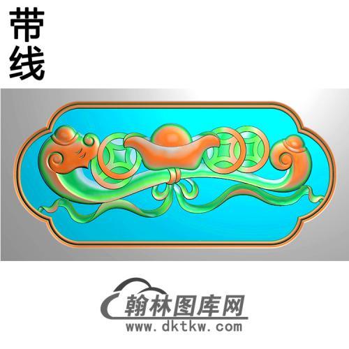 如意横梁精雕图(MBHL-1307)