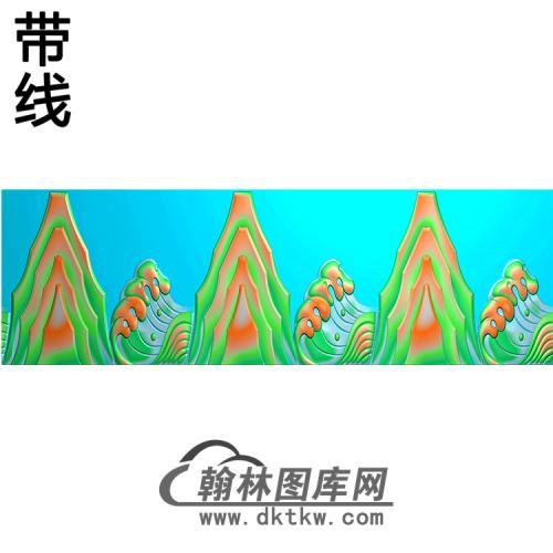 山横梁精雕图(MBHL-1397)