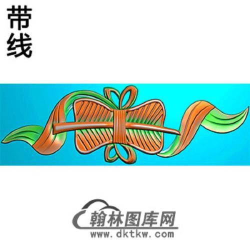 扇子横梁精雕图(MBHL-1326)