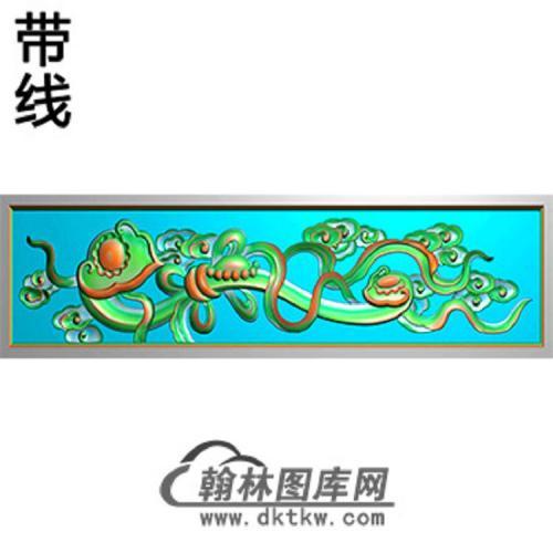如意横梁精雕图(MBHL-1329)