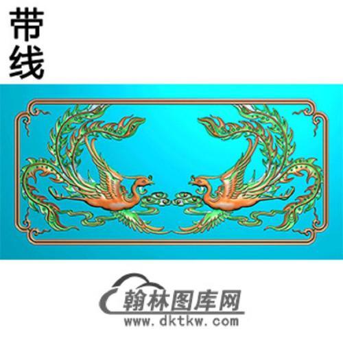 凤横梁精雕图(MBHL-1332)