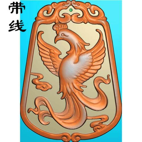 凤牌精雕图(GJF-014)