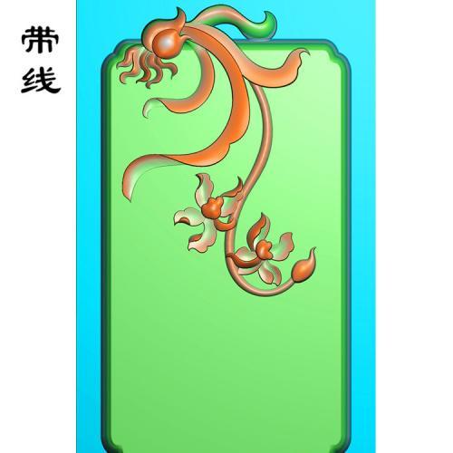 兰花精雕图(GGL-005)