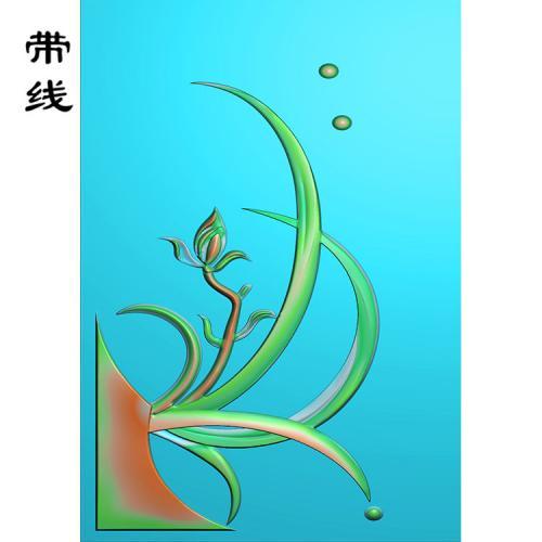 兰花精雕图(GGL-006)