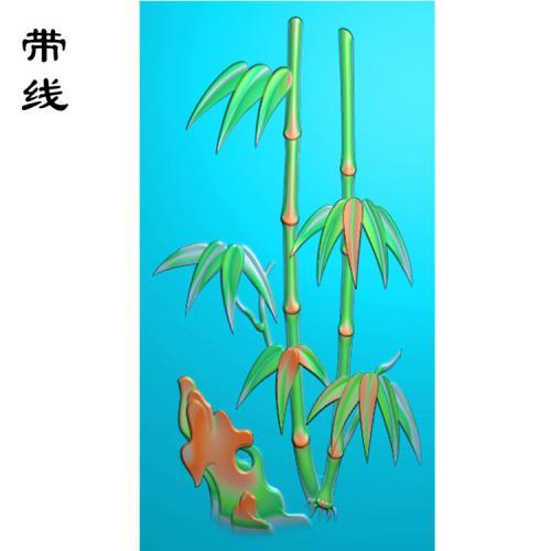 平安竹子雕图(GGL-006)