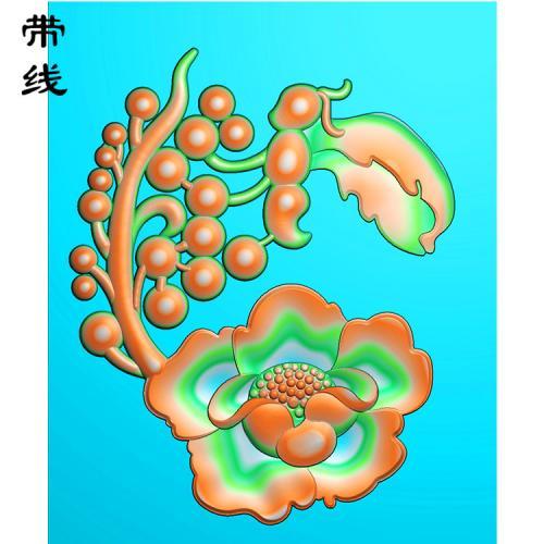 花精雕图(HC-007)