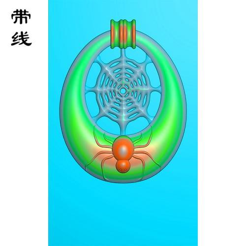 蜘蛛精雕图(QCL-001)