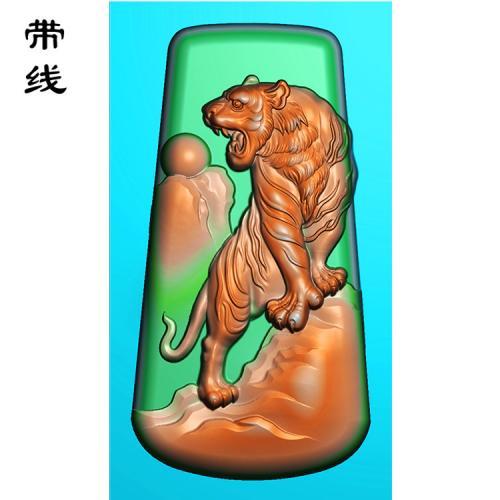 上山虎精雕图(GH-007)