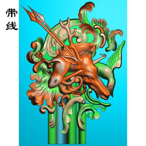 三阳开泰精雕图(GY-016)