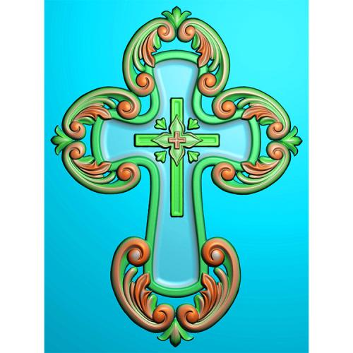 十字架精雕图(SZJ-001)