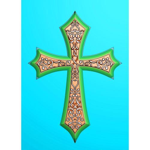 十字架精雕图(SZJ-008)