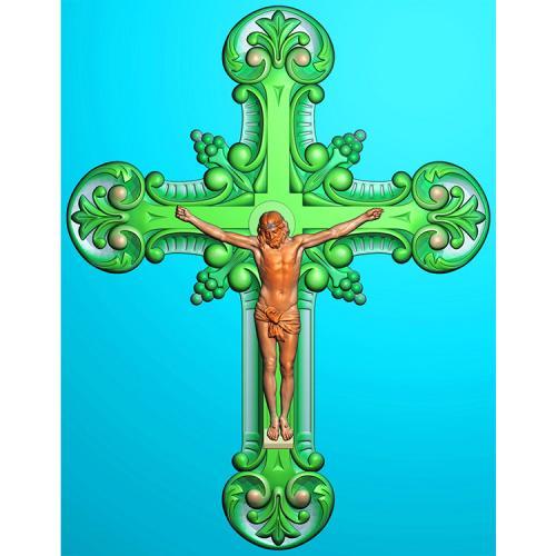 十字架精雕图(SZJ-009)