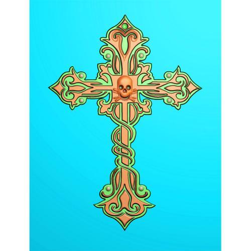 十字架精雕图(SZJ-010)