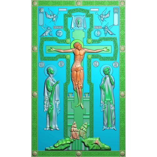 十字架精雕图(SZJ-017)