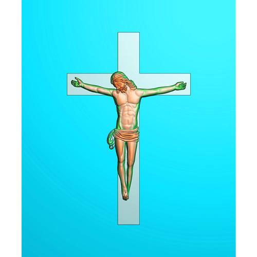 十字架精雕图(SZJ-019)