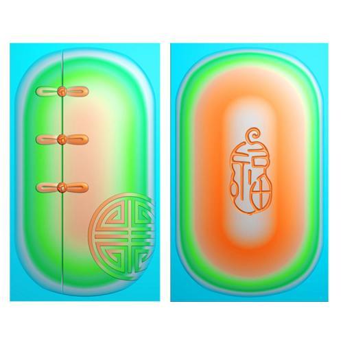 男装挂件精雕图(QTG-064)