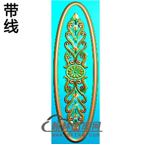 欧式椭圆形洋花精雕图(TYH-013)