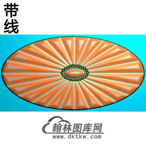 欧式椭圆形洋花精雕图(TYH-017)